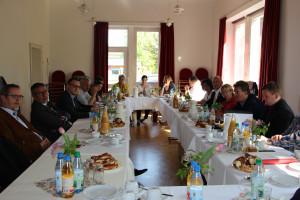 Im Gespräch: Der SPD-Bezirksvorstand und die unterfränkischen Dekane