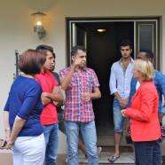 Bei einem Besuch der beiden dezentralen Flüchtlingsunterkünfte in Heimbuchenthal machte sich Martina Fehlner ein Bild von der Lage vor Ort und informierte sich im direkten Gespräch mit den Bewohnern.