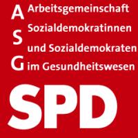 Logo der Arbeitsgemeinschaft der SozialdemokratInnen im Gesundheitswesen