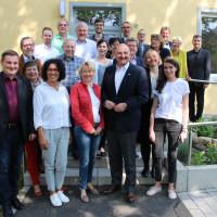 Gemeinsame Positionen zu den Themen Pflege und Integration teilen die unterfränkische SPD und die Evangelische Kirche und Diakonie (Bild: Melanie Tietze)