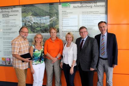 Informationsgespräch am Klinikum Aschaffenburg-Alzenau